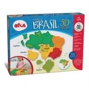 MAPA DO BRASIL 3D PLASTICO