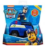 Patrulha Canina - Veículo Básico Com Figura - Chase - Sunny
