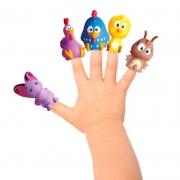 Turma da Galinha Pintadinha - Miniaturas 5 Peças - Atóxico - Cardoso Toys