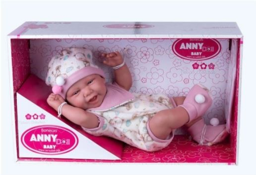 ANNY DOLL BABY MACACAOBABADOR