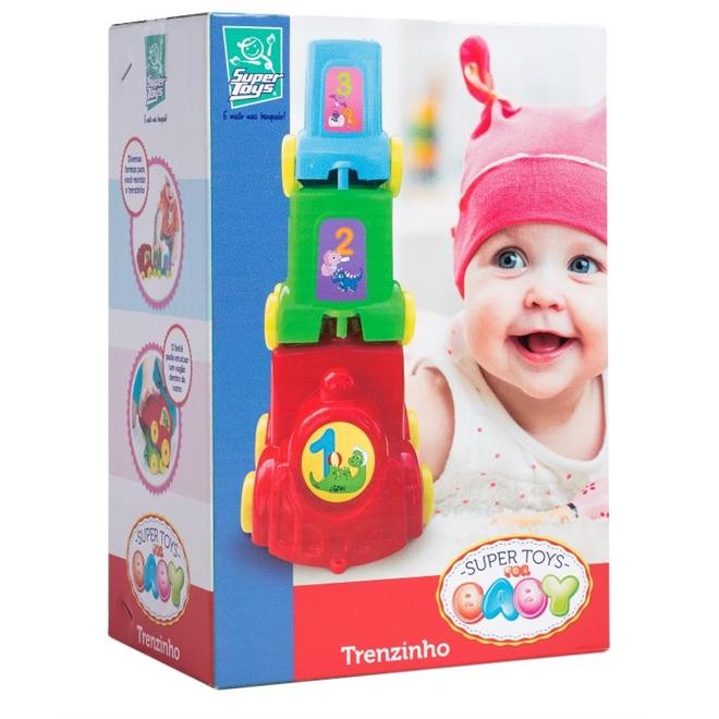Baby Trenzinho Didatico Supertoys