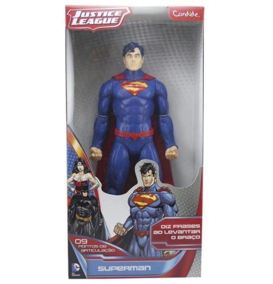 BONECO SUPERMAN 14 POLEGADAS COM SOM