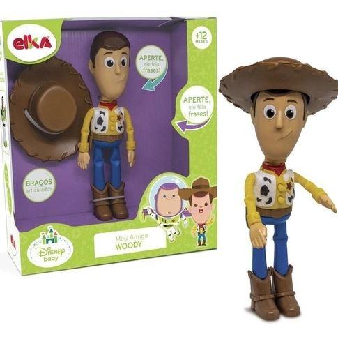 Boneco Woody Toy Story Com Som Fala Frases - Elka