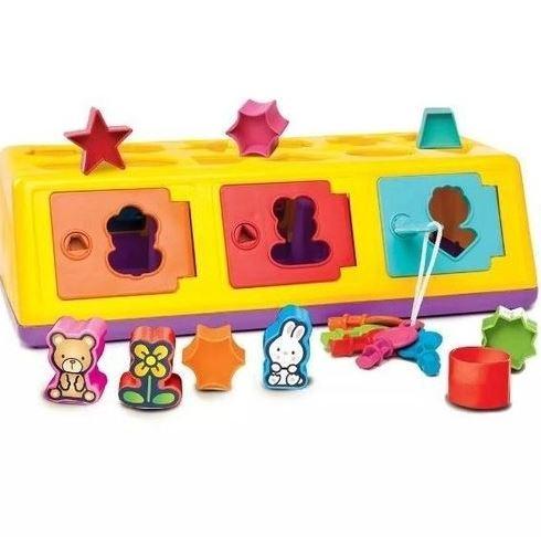 Brinquedo Caixa Encaixa Estrela Baby