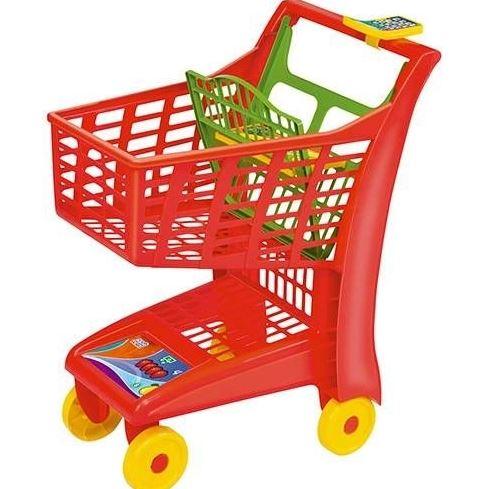 Carrinho de Compras Market Magic Toys - VEMELHO
