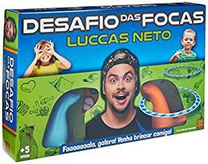 Desafios das Focas Luccas Neto