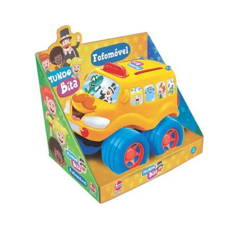 Fofomóvel Carros - Mundo Bita - Lider Brinquedos