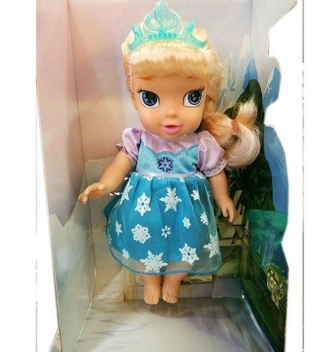 Frozen-Boneca Baby Elsa Com Cabelo Mimo 6455