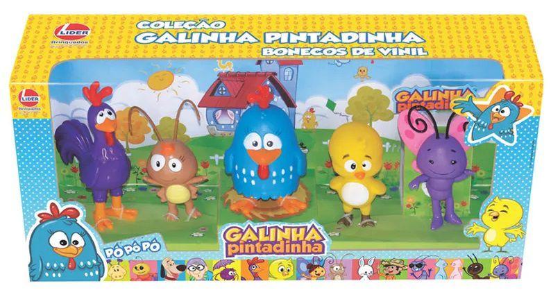 Galinha Pintadinha Família