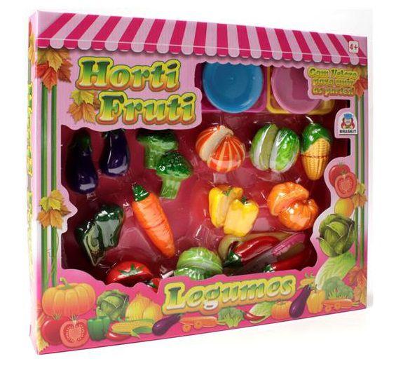 Horti fruti Legumes com Velcro