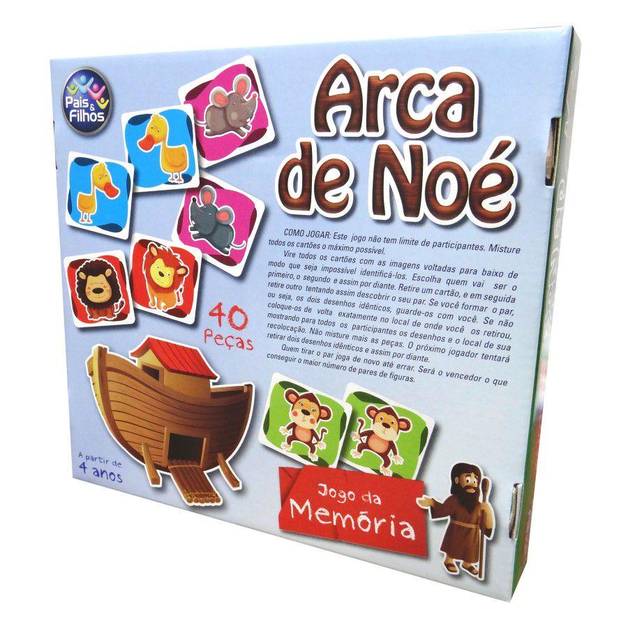 Jogo ARCA DE NOÉ MEMÓRIA
