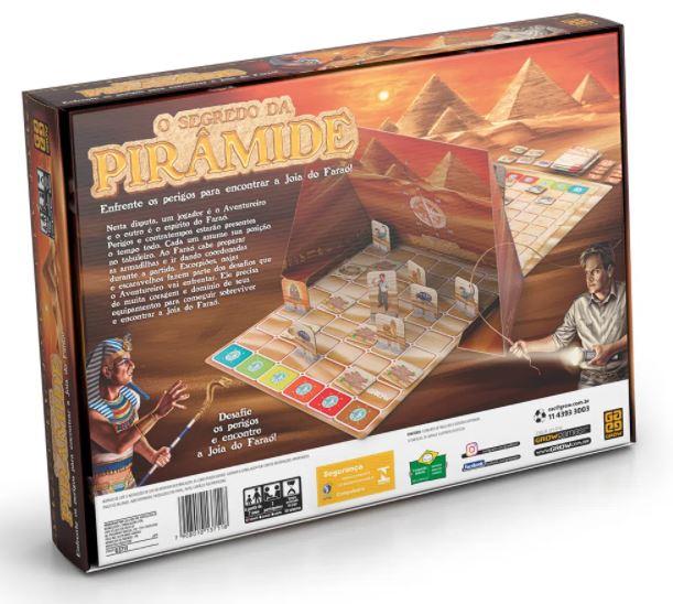 Jogo O Segredo da Pirâmide