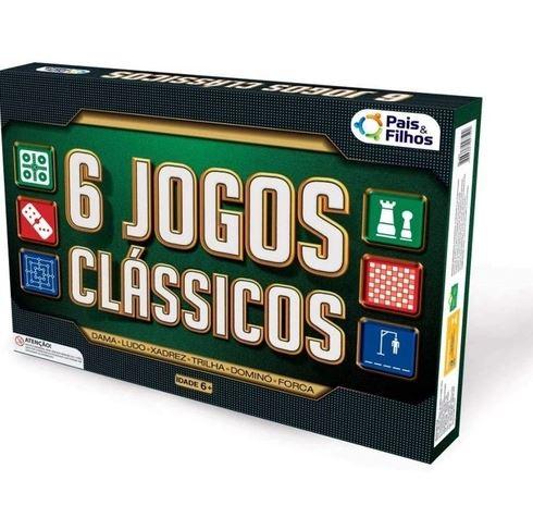 JOGOS CLÁSSICOS 6 TOP LINE