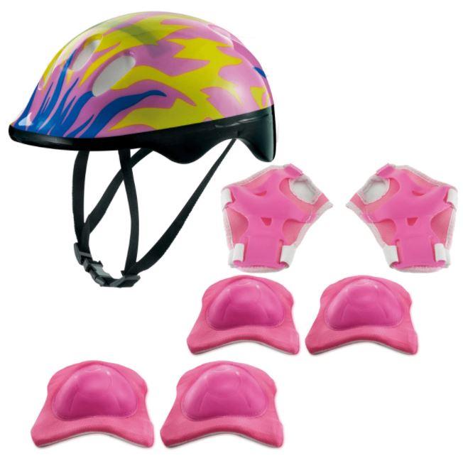 Kit De Proteção - Chamas Rosa - Zippy Toys