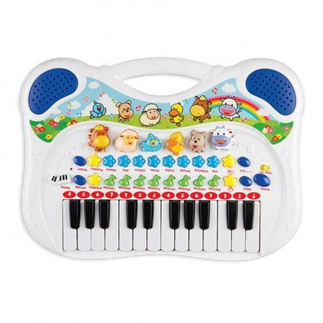 Piano Musical Animal Azul