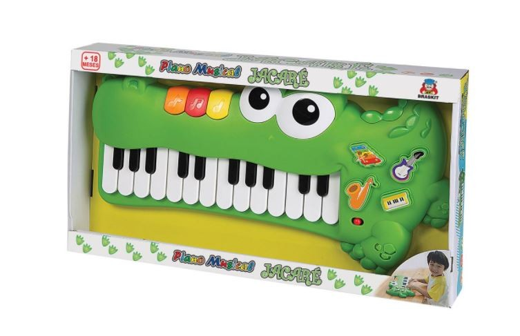 PIANO MUSICAL JACARE