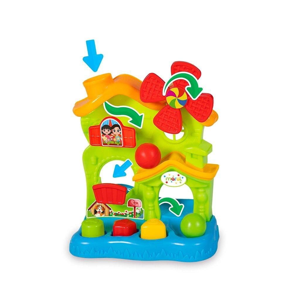 Play Home Casinha Didática Infantil Bebê 6 Meses- Maral 1176
