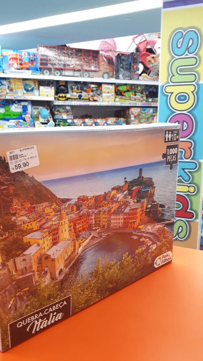 Quebra Cabeça Itália Premium 1000 peças