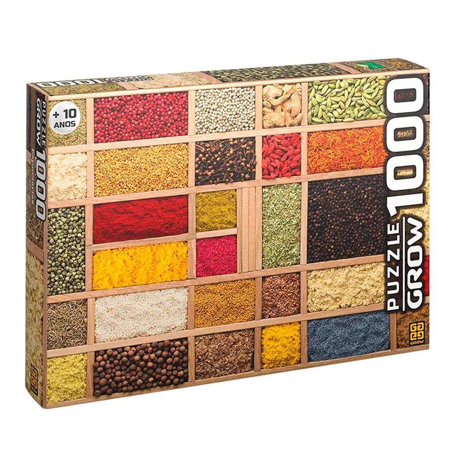 Quebra Cabeça Especiarias 1000 peças