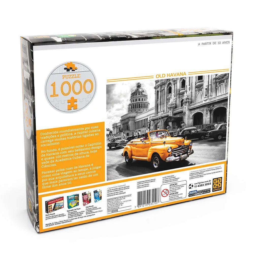 Quebra Cabeça Old Havana 1000 peças