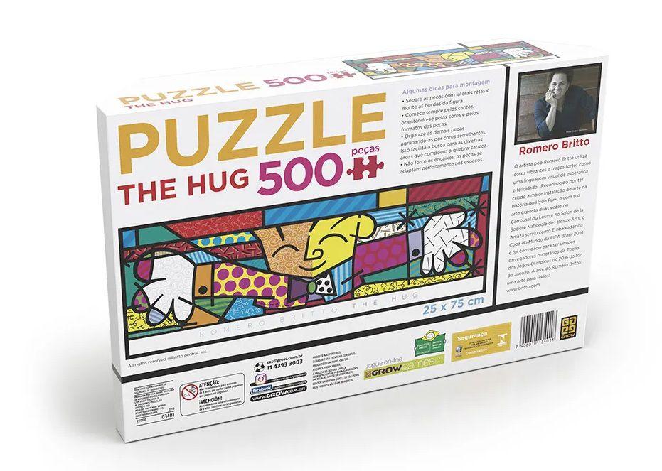 Quebra Cabeça Panorama Romero Brito - The Hug 500 peças