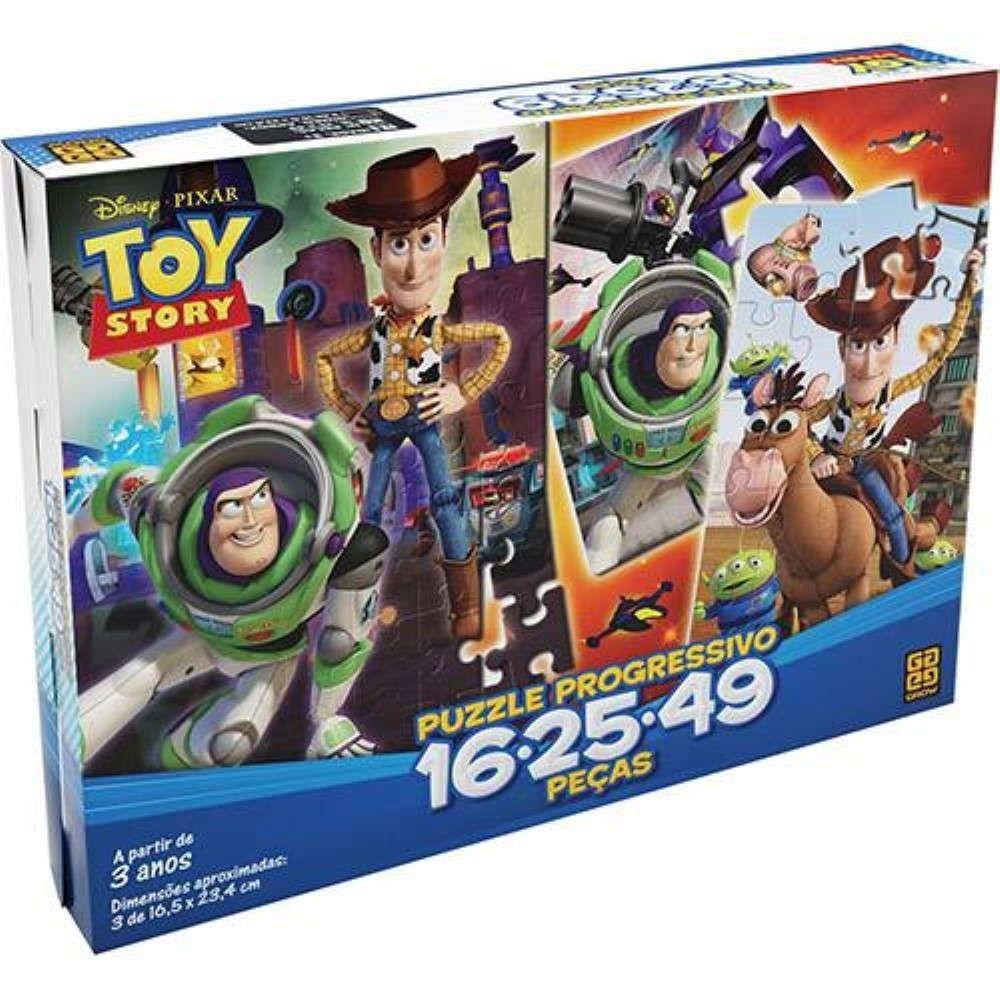 Quebra Cabeça Progressivo Toy Story