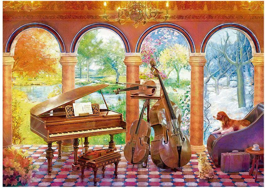 Quebra Cabeça Vivaldi Quatro Estações 4000 pçs