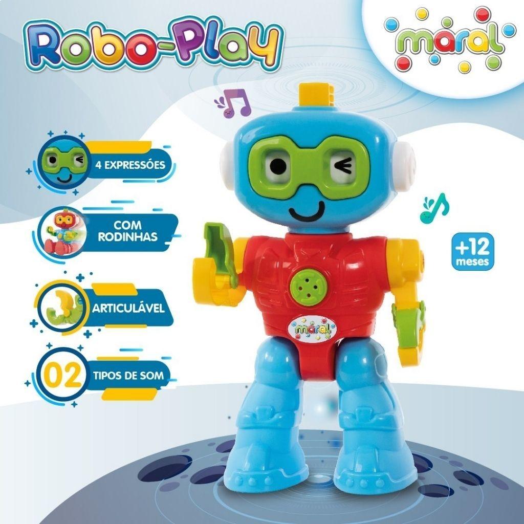 Robo Play Com Som - Solapa