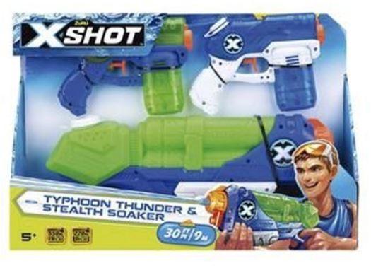 X-SHOT X1 TORMENTA X2 MAREMOTO