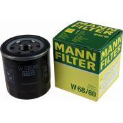 Filtro de Óleo Corolla Fielder 1.6 1.8 Gasolina Flex Mann W68/80