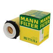 Filtro de Óleo Mann HU711/6Z Mercedes Turbo A200/C180/B200/E250