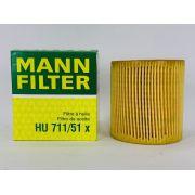 Filtro Óleo Citroen DS3 1.6 THP/ DS4 1.6 THP Mann HU711/51X