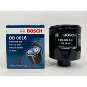 Filtro Óleo Golf 1.6 8V todos 2001 em diante Bosch OB0016