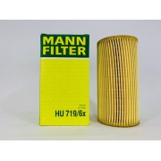 Filtro Óleo Mann HU719/6X Audi A1 2.0 TFSI 2012 em diante