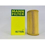 Filtro Óleo Mann HU719/6X Audi A4 2.0 TFSI 2005 a 2008