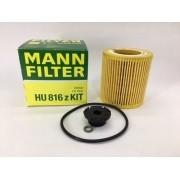 Filtro Óleo Mann Hu816z Bmw 120i 125i 320i 328i Z4 X1 2.0t