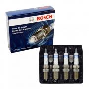 Jogo 4 Velas Ignição SP02 FR7D+ Bosch Palio Siena 1.0 1.3