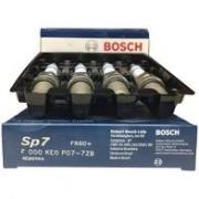 Jogo 4 Velas Ignição SP07 FR6D+ Bosch Clio Logan 1.6