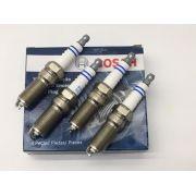 Jogo 4 Velas Ignição SP45 HR5M+U Bosch Focus