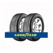 Kit com 2 Pneus Goodyear Aro 17 Efficient Grip Suv 215/60 96H