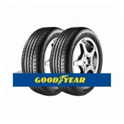 Kit com 2 Pneus Goodyear Aro 18 Efficient Grip EMT (Runonflat) 255/40 95Y