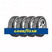 Kit com 4 Pneus Goodyear Aro 15 Eagle Sport 185/65