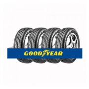 Kit com 4 Pneus Goodyear Aro 15 Eagle Sport 195/55 85H