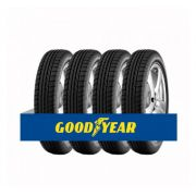 Kit com 4 Pneus Goodyear Aro 17 Efficient Grip 235/55 99Y