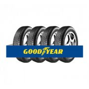 Kit com 4 Pneus Goodyear Aro 18 Efficient Grip EMT (Runonflat) 225/45 91Y