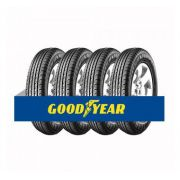 Kit com 4 Pneus Goodyear Aro 18 Efficient Grip Suv 225/55 98H