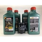 Kit Troca Óleo A3 1.6 8v Castrol 5w40 Filtro Bosch