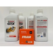 Kit troca Óleo Celta 1.0 8V Castrol GTX 20W50 Filtro Fram