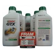 Kit Troca Óleo Corola 1.8 16v Castrol GTX 15w40 Filtro Fram