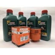 Kit Troca Óleo Fox 1.6 Castrol 5w40 508.88 Filtro Fram